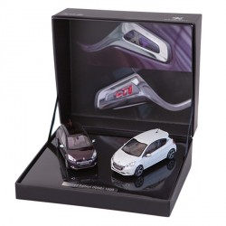 MINIATURE COFFRET 208 GTI & XY 1/43